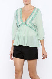 Shoptiques Product: Peasant Top - Front cropped
