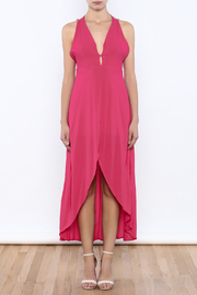 Bacio Pink Dress - Front cropped