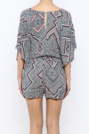 Shoptiques Product: Printed Romper - Back cropped