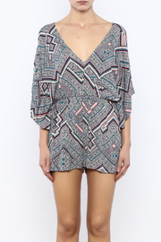 Bacio Printed Romper - Side cropped