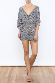Shoptiques Product: Printed Romper - Front full body