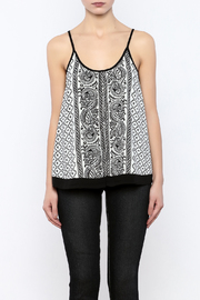 Shoptiques Product: Printed Tank - Side cropped