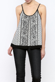 Bacio Printed Tank - Product Mini Image