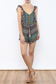 Shoptiques Product: Flutter Strap Romper - Front full body