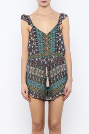 Shoptiques Product: Flutter Strap Romper - Side cropped