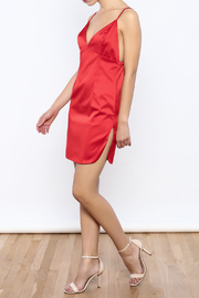 Shoptiques Product: Satin Cami Dress - Front full body