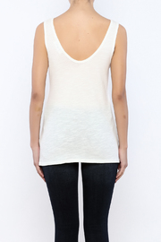 Shoptiques Product: Scoop Neck Tank - Back cropped