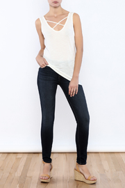 Shoptiques Product: Scoop Neck Tank - Front full body