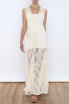 Bacio Sheer Lace Dress - Product List Image