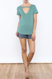 Bacio Short Sleeve Tee - Front full body