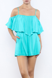 Bacio Sky Blue Romper - Product Mini Image