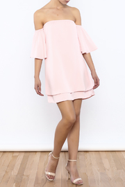 Bacio Soft Pink Top - Front full body