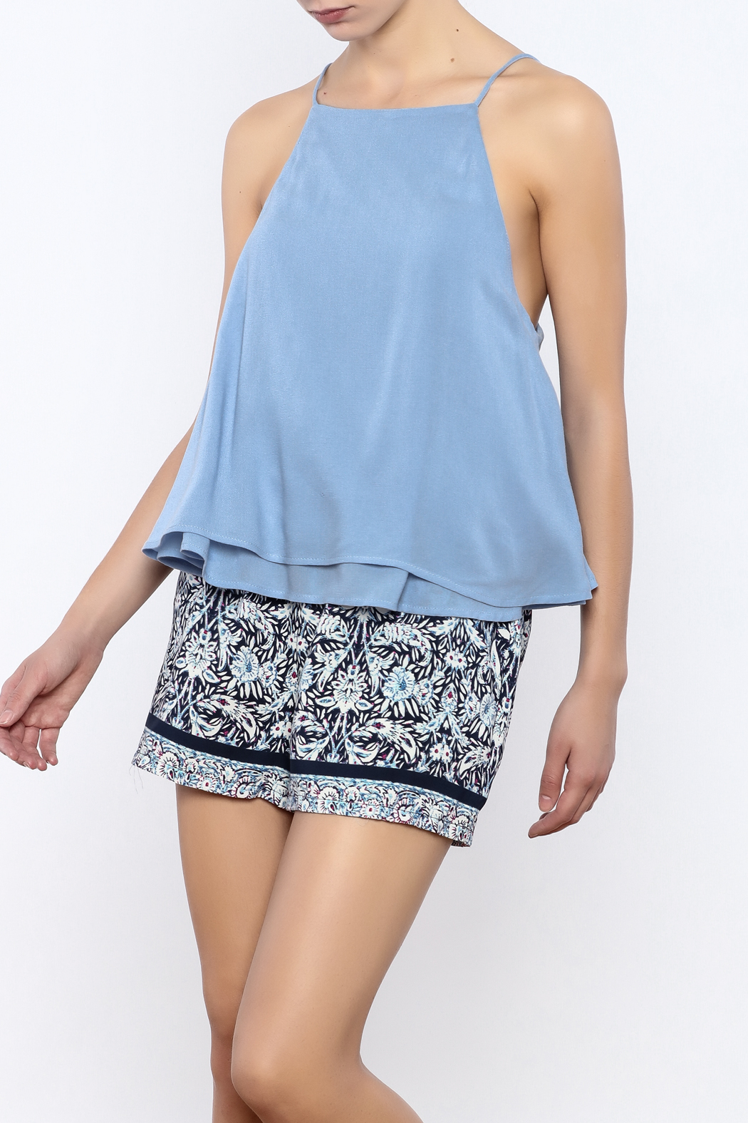Bacio Layered Tank - Front Cropped Image