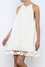 Bacio Tassel Trim Dress - Product Mini Image