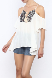 Bacio White  Top - Product Mini Image