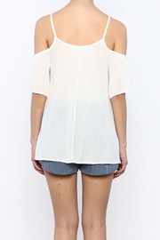 Shoptiques Product: White  Top - Back cropped
