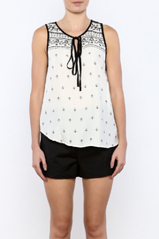 Shoptiques Product: White Top - Side cropped