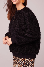Band Of Gypsies Back In Black Poodle Sweater - Product Mini Image