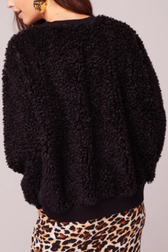 Band Of Gypsies Back In Black Poodle Sweater - Alternate List Image