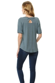 Cubism Back Keyhole Top - Front full body