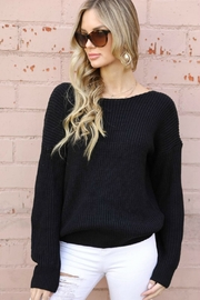 Spotlite BACK LACE SWEATER - Front full body