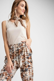 easel Back Lace Top - Product Mini Image