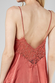 DO+Be Collection  Back Lace Trim Top - Product Mini Image