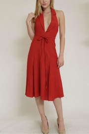 essue Back Open Dress - Front cropped