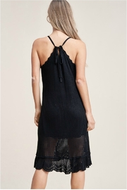 Staccato Back Tie Dress - Back cropped