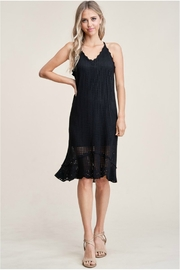 Staccato Back Tie Dress - Other