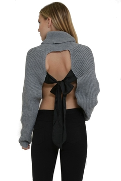 essue Back Tie Sweater - Product List Image