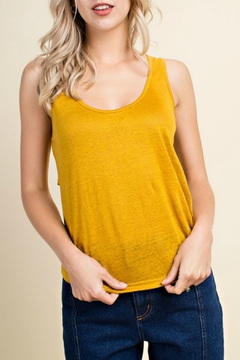 honey belle Back Tie Tank - Product List Image