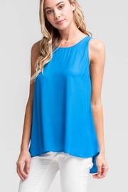 Lush Back Tie Tank - Product Mini Image