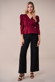 Sugarlips Back To Basics High Waisted Pant - Front cropped