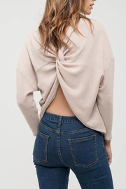 Blu Pepper Back-Twist Long Sleeve - Front cropped