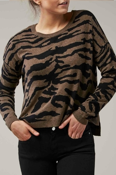 Shoptiques Product: Animal Crew Sweater