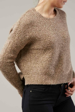 Shoptiques Product: Cropped Crew Sweater