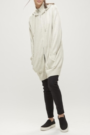 Backdrop Fashion Long Zip Cardi - Product Mini Image