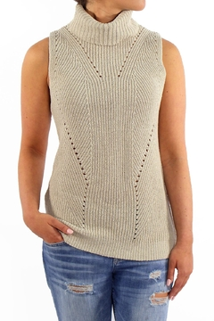 Shoptiques Product: Pointelle Turtleneck Sweater