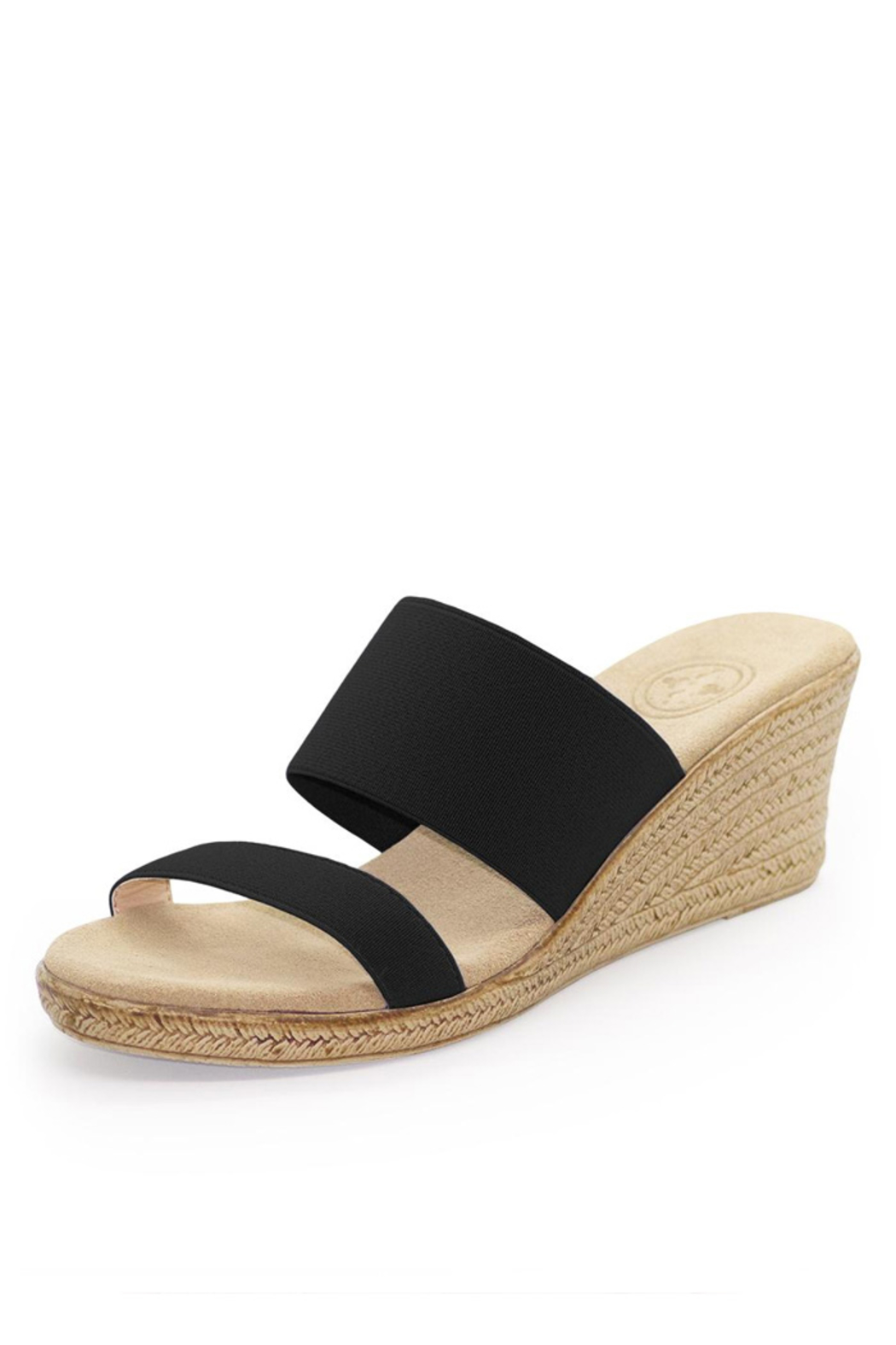 Charleston Shoe Co. BACKLESS COOPER SANDAL - Front Cropped Image