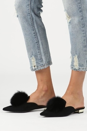 POL Backless Loafer Slippers - Product Mini Image