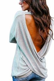 Unknown Factory Backless Tee - Product Mini Image