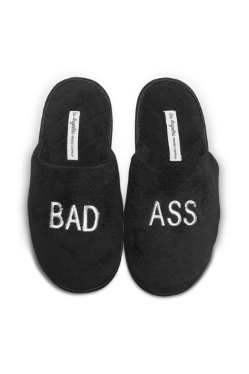 Los Angeles Trading Co.  Bad Ass Slippers - Front Cropped Image