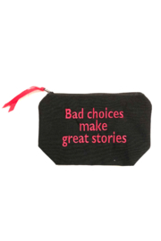 Dani Risi Bad Choices Make Great Stories Pouch - Product Mini Image