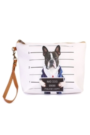 Riah Fashion Bad-Dog Cosmetic Bag - Product Mini Image
