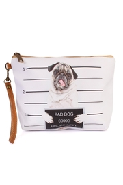 Riah Fashion Bad-Dog Cosmetic Pouch - Product Mini Image