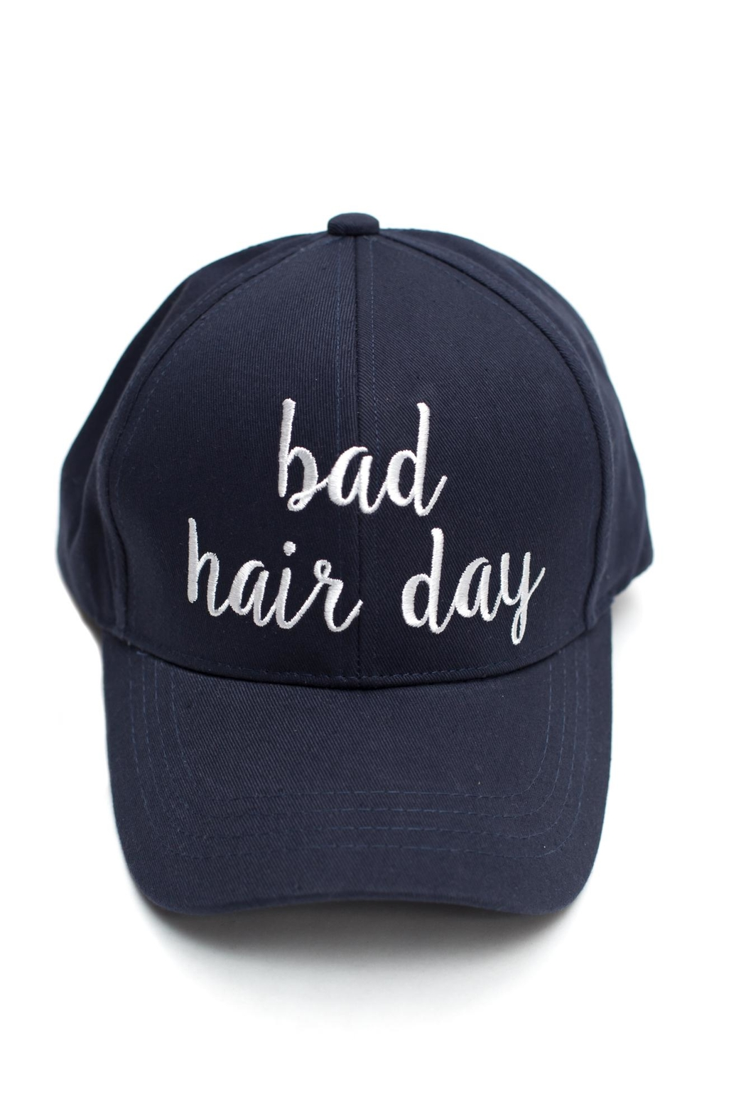 C.C. Bad Hair Cap - Front Cropped Image