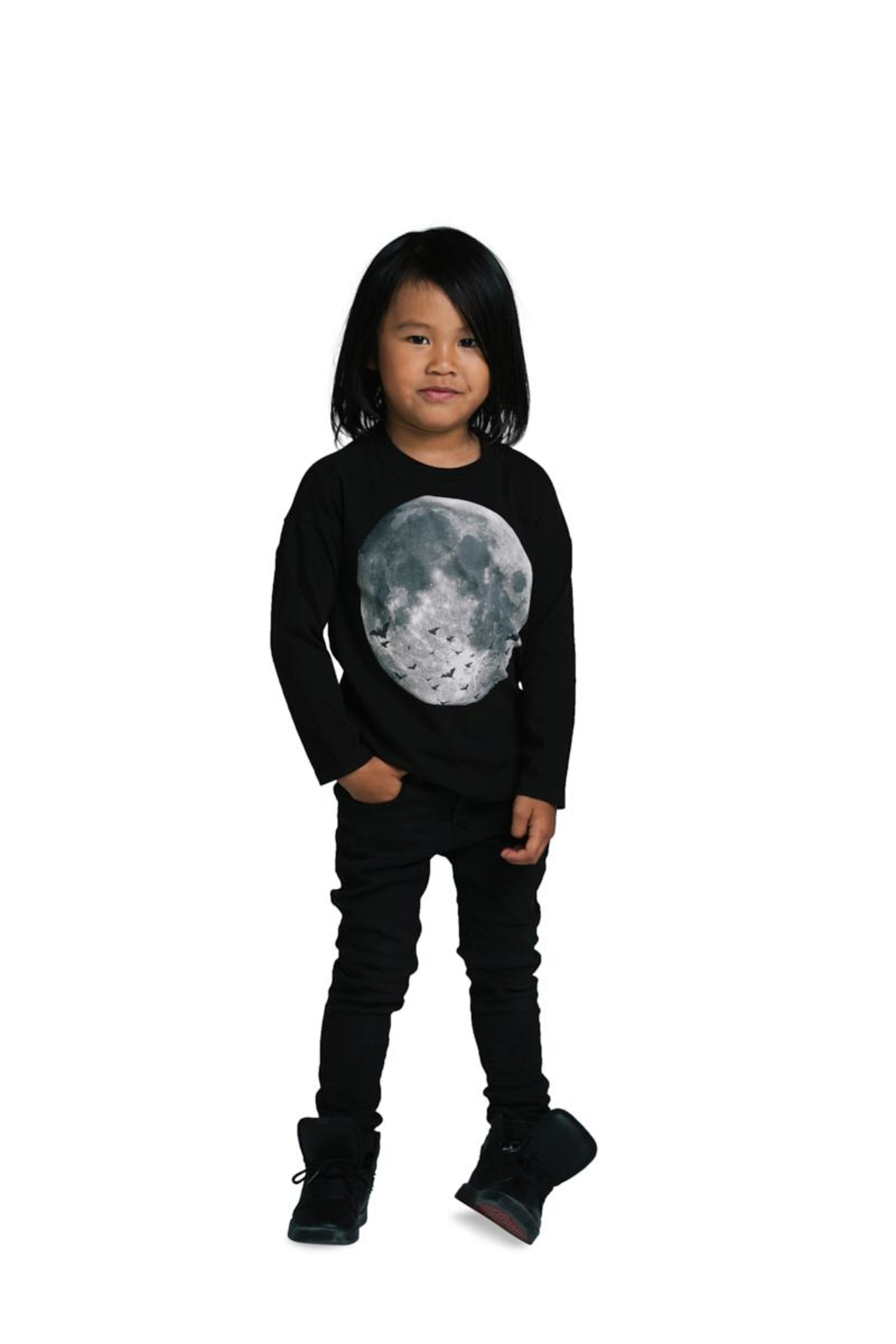 Rock Your Baby Bad Moon Top - Side Cropped Image