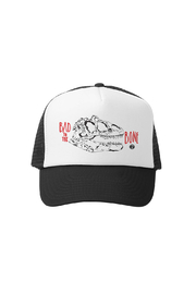 Grom Squad Bad to the Bone Trucker Hat - Front cropped