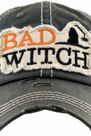 Patricia's Presents Bad Witch Baseball Hat - Product Mini Image